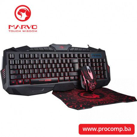 Gaming tastatura Marvo KM400+G1 S