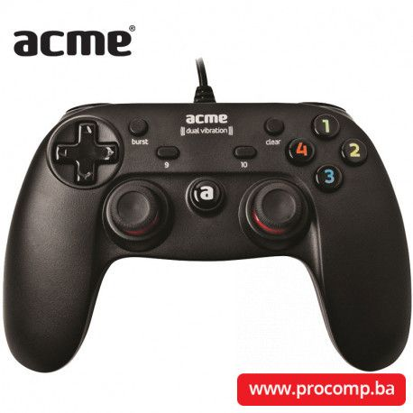 Gaming gamepad Acme GA09