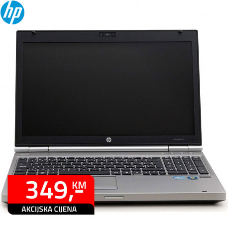 Laptop HP EliteBook 8560p Intel Core i5 2620M 4GB 320GB