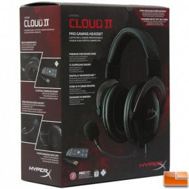 Gaming slušalice HyperX Cloud II headset