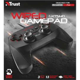 Gamepad Trust GXT 545 Yula Wired  PC PS3 Wired