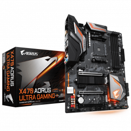 Matična ploča X470 AORUS ULTRA GAMING Socket AM4 4x DIMM DDR4