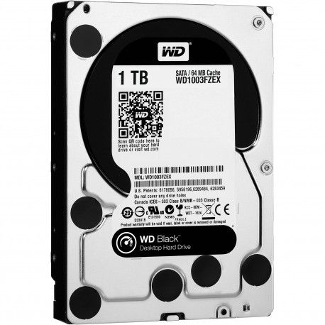 WD HDD 1TB black