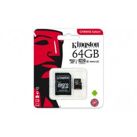 Memorijska kartica  Kingston SD MICRO 64GB Class 10 UHS-I + ad
