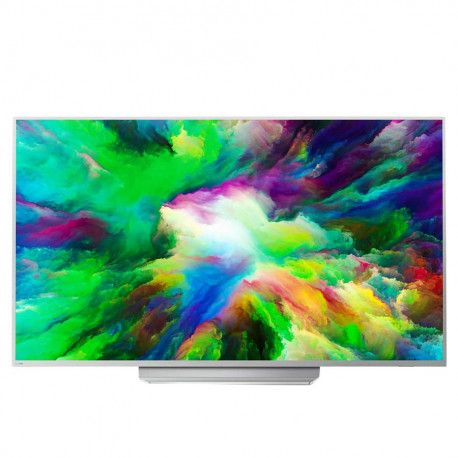 "PHILIPS TV LED 55""(139cm) Ultra Slim 4K UHD Android TV Ambilight 3-sided DVB T/C/T2/T2-HD/S/S2 Quad"