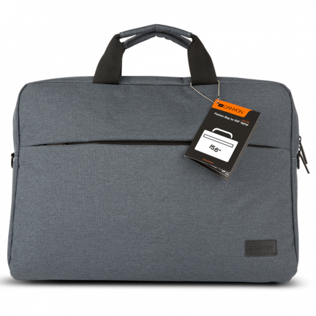 CANYON Elegant Gray laptop bag
