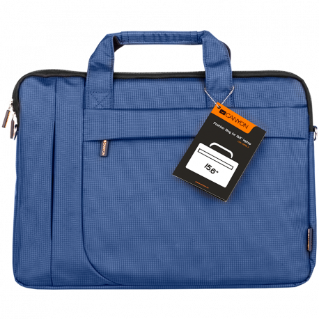 "CANYON Fashion toploader Bag for 15.6"" laptop Blue"