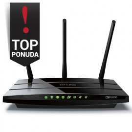 Router TP-Link AC1200 Dual-Band Wi-Fi Gigabit Router 802.11ac/a/b/g/n 867Mbps at 5GHz + 300Mbps at 2.4GHz5