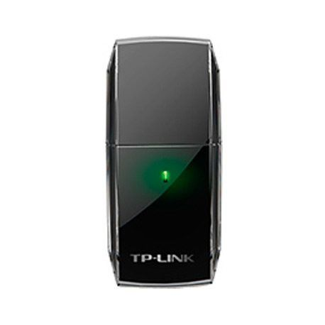 NIC TP-Link AC600 Wi-Fi USB Adapter 1T1R433Mbps at 5GHz + 150Mbps at 2.4GHz 802.11ac/a/b/g/n USB