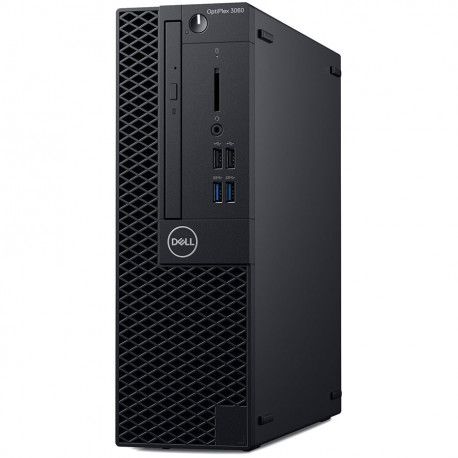 Dell OptiPlex 3060 SFF Core i3-8100 4GB 128GB SSD Intel HD DVD RW Kb Mouse