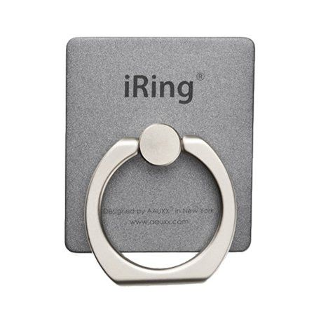 AAUXX iRing Masstige Gray - Compatible with smartphones Horizontal or vertical kickstand Rotates 360 swivels