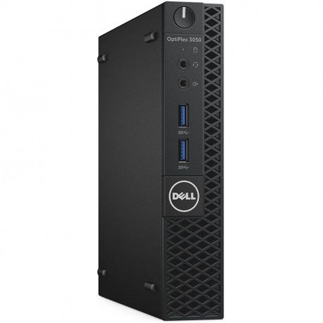 Dell OptiPlex 3050 MFF Core i5-7500T 8GB 256GB SSD AC 8265 Kbd+Mouse Win10Pro 3Yr