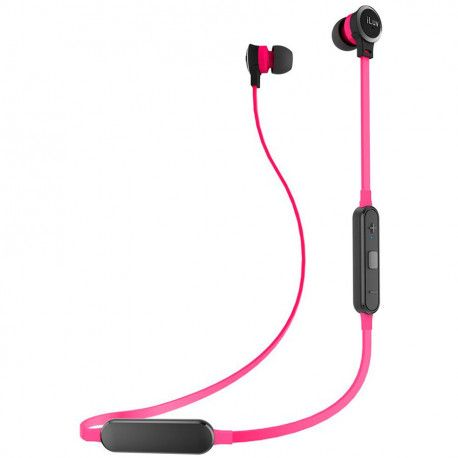 iLuv Neon Air 2 Tangle-free Wireless In-Ear Earphones - Pink
