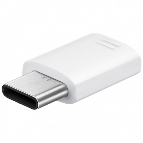 Micro USB Connector (USB Type-C to Micro USB) - White