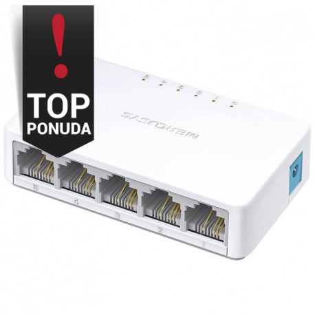 Mercusys 5-port 10/100M mini Desktop Switch