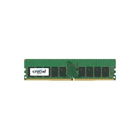 Crucial DRAM 8GB DDR4 2400 MT/s (PC4-19200) CL17 DR x8  ECC Registered DIMM 288pin