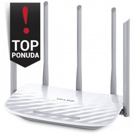 Router TP-Link AC1350 Dual-Band Wi-Fi Router 802.11ac/a/b/g/n  867Mbps at 5GHz + 450Mbps at 2.4GHz