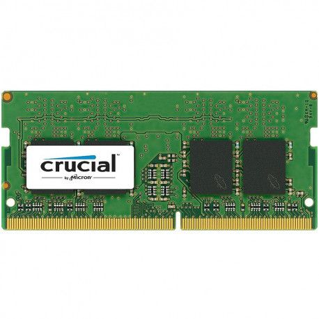 Crucial DRAM 16GB DDR4 2666 MT/s (PC4-21300) CL19 DR x8 Unbuffered SODIMM 260pin EAN: 649528780140