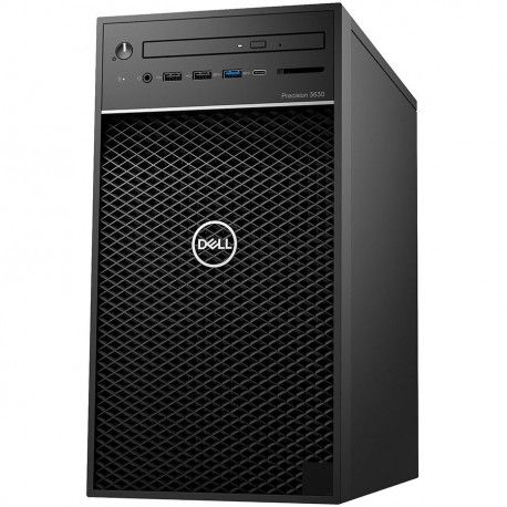 Dell Precision 3630 Tower Core i3-8100 4GB 1TB Win10Pro OfficeHomeAndBus 300W NoKBD No Mouse 3Yr