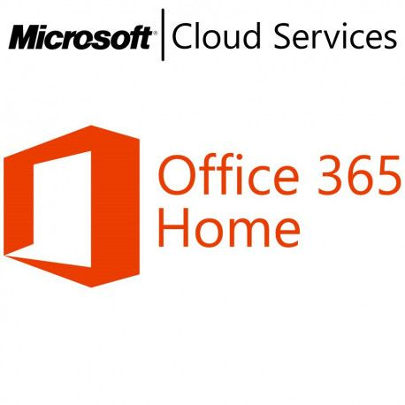 MICROSOFT Office 365 Home English Subscr 1YR Central/Eastern Euro Only