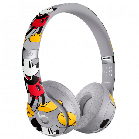 Beats Solo3 Wireless Headphones - Mickey's 90th Anniversary Edition Model A1796