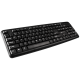 CANYON Wired Keyboard 104 keys USB2.0 Black cable length 1.3m 443*145*24mm 0.37kg Adriatic