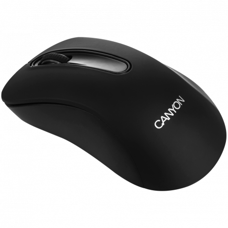 CANYON 2.4GHz wireles Optical Mouse with 3 buttons DPI 1200 Black 108*65*38mm 0.066kg