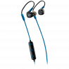 CANYON Bluetooth sport earphones with microphone cable length 0.3m 18*25*22mm 0.028kg Blue