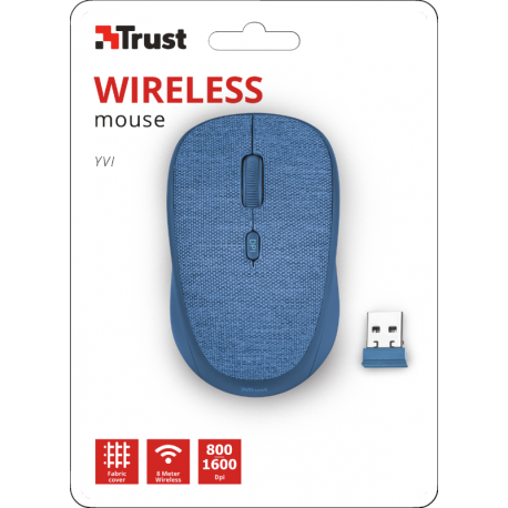 Yvi Fabric Wireless Mouse