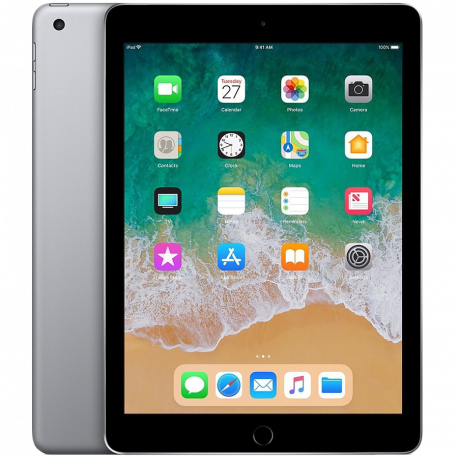 Apple 9.7-inch iPad 6 Wi-Fi 32GB Space Gray (Retina Display LED‑backlit Multi‑Touch display 2048by-1536 resolution