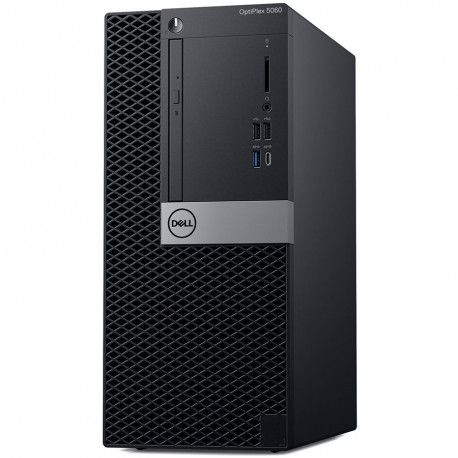 Dell OptiPlex 5060 MT Core i3-8700 16GB 1TB Intel UHD 630 DVD RW No Wifi