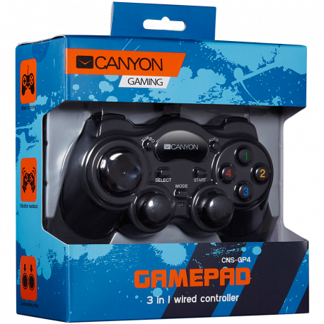 CANYON 3 in 1 Wired Gamepad