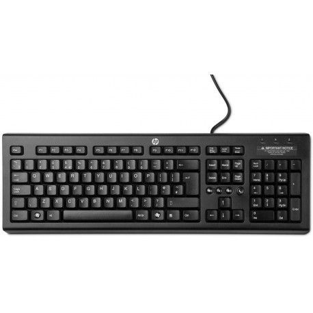 HP Tastatura Classic wired BH