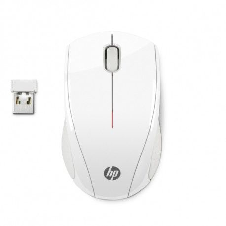 HP X3000 White Wireless Mouse