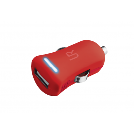 5W Car Charger - red