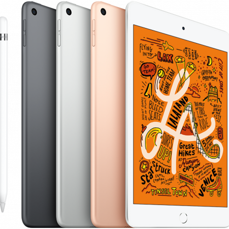 Apple iPad mini 5 Wi-Fi 64GB (7.9-inch LED-backlit Multi-Touch display 2048-by-1536  at 326(ppi) A12