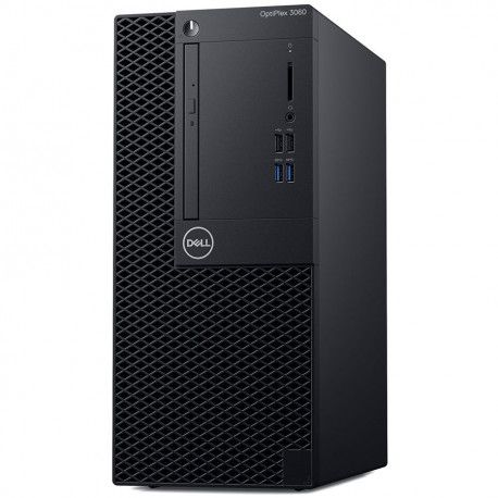 Dell OptiPlex 3060 MT Core i3-8100 4GB 1TB Intel UHD 630 DVD RW No Wifi