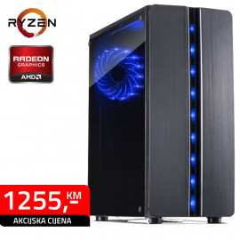 GAMING RAČUNAR Thunder  Ryzen 5 2600 AMD RX 580 8GB