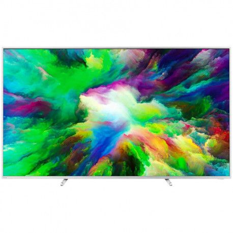 "PHILIPS TV LED 75""(191cm) Ultra Slim 4K UHD Android TV Ambilight 3-sided DVB T/C/T2/T2-HD/S/S2 Quad"