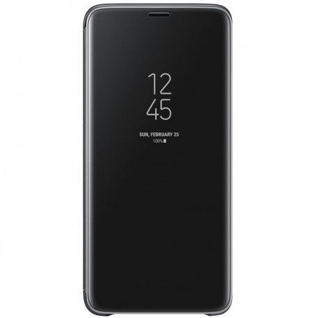 Samsung S9+ Clear View Cover Black