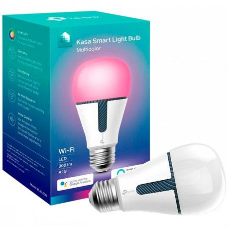 Smart Wi-Fi LED Bulb With Color-Changing Hue