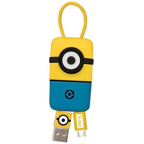 Tribe Minions Carl USB Keyline (22cm) - Yellow