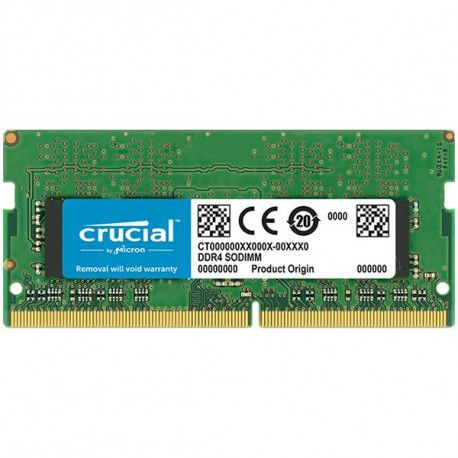 CRUCIAL DRAM 4GB DDR4 2666 MT/s (PC4-21300) CL19 SR x8 SODIMM 260pin  EAN: 649528787286