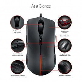 Gaming miš ASUS ROG Strix Evolve