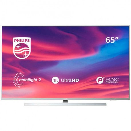 """PHILIPS TV LED 65"""" (164 cm) 4K UHD Ultra Slim Android TV 3840x2160p Ambilight 3-side"""