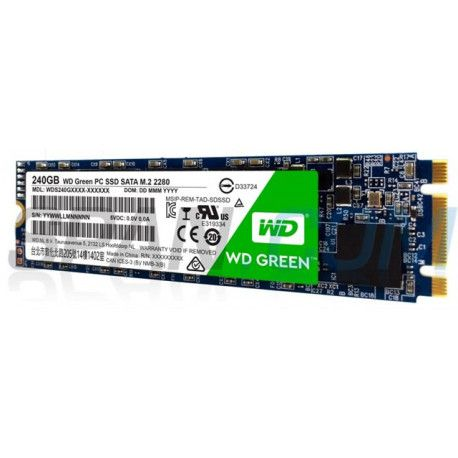 SSD WD 120GB Green M.2 2280 SATA
