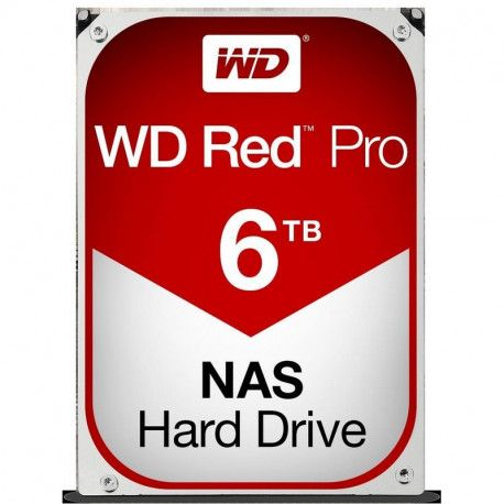 WD HDD 6TB Red Pro