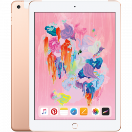 Apple 9.7-inch iPad 6 Cellular 32GB Gold (Retina Display LED‑backlit Multi‑Touch display 2048by-1536 resolution at