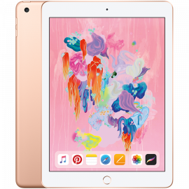 Apple 9.7-inch iPad 6 Wi-Fi 32GB Gold (Retina Display LED‑backlit Multi‑Touch display 2048by-1536 resolution at