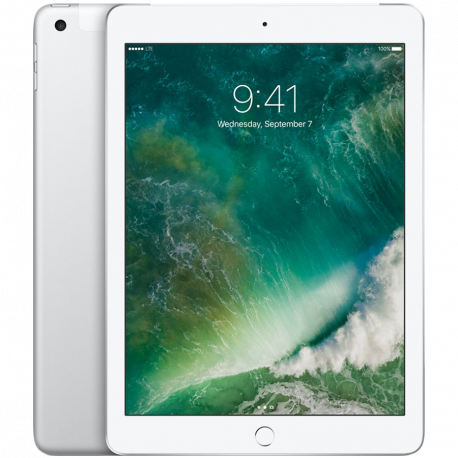 Apple 9.7-inch iPad 6 Cellular 32GB Silver (Retina Display LED‑backlit Multi‑Touch display 2048by-1536 resolution at